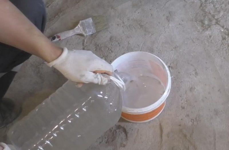Жидкое стекло – применение в строительстве — рекомендации при покрытии жидким стеклом