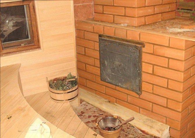 Кирпичная печь для бани (67 фото): дровяные печки из кирпича, проекты и чертежи своими руками, какая лучше - железная или кирпичная