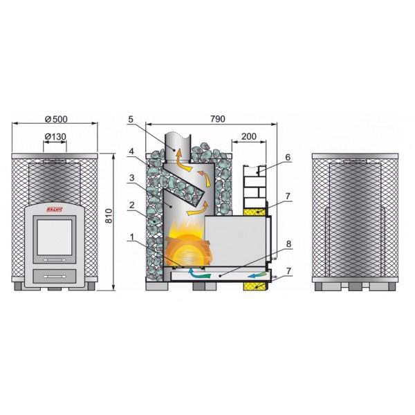 Газовый котел для бани (сауны): самодельный, своими руками