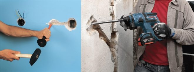 Как штробить стену под проводку своими руками без пыли – инструкция, чем лучше пользоваться, на какую глубину и др с видео