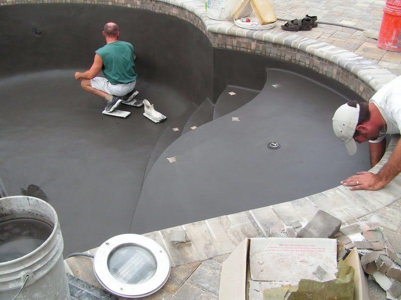 Выбор материала для декоративной отделки бассейна