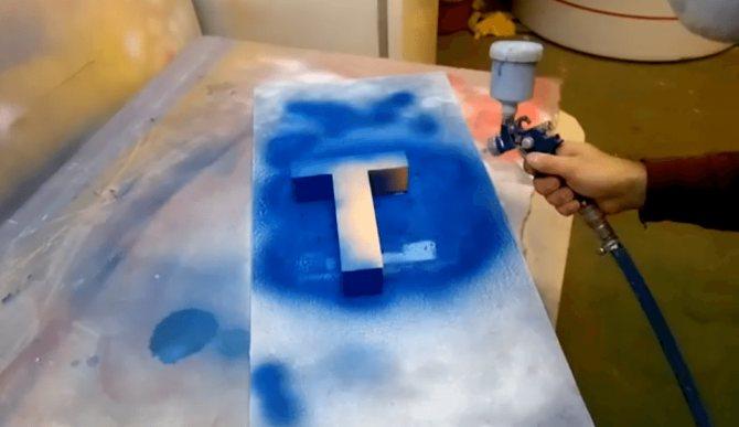 Пенопласт и пеноплекс: как и чем можно покрасить?