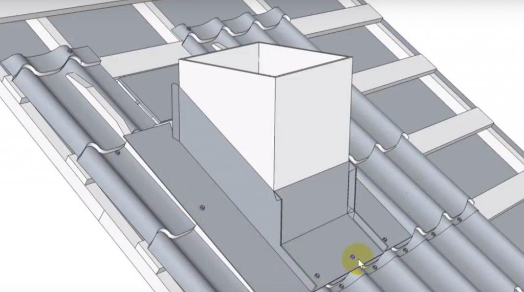 Как сделать проход трубы через крышу из металлочерепицы – проверенные на практике варианты