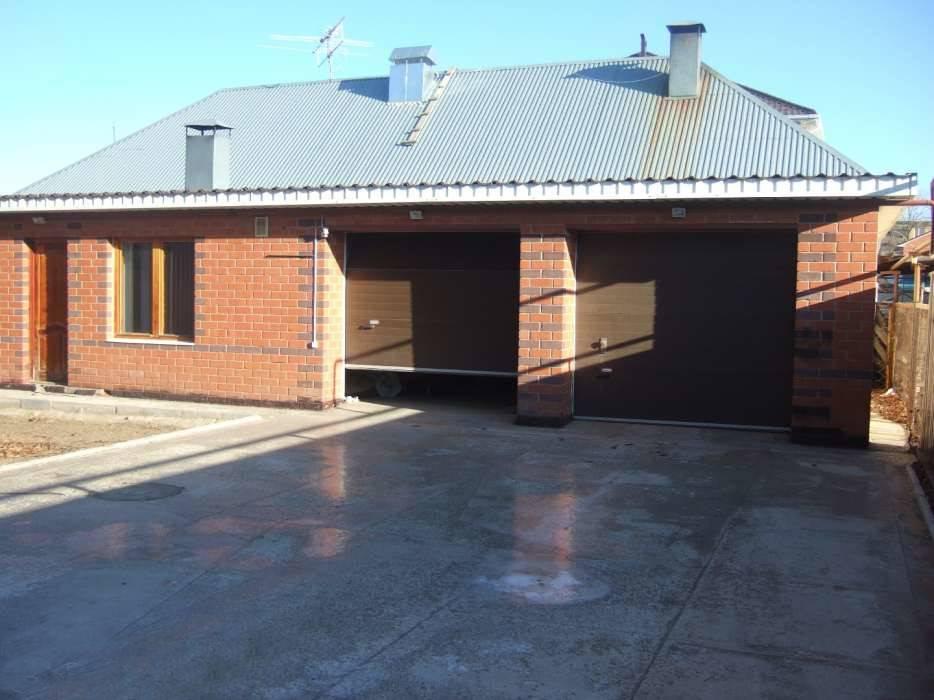 Гараж баня дом под одной крышей