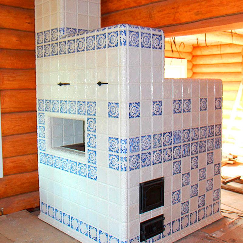 Облицовка печи, отделка печи плиткой в частном доме своими руками, чем облицевать печь из кирпича