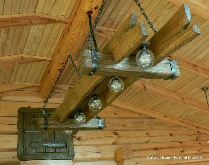 Светильники для бани – обзор идей и изготовление своими руками