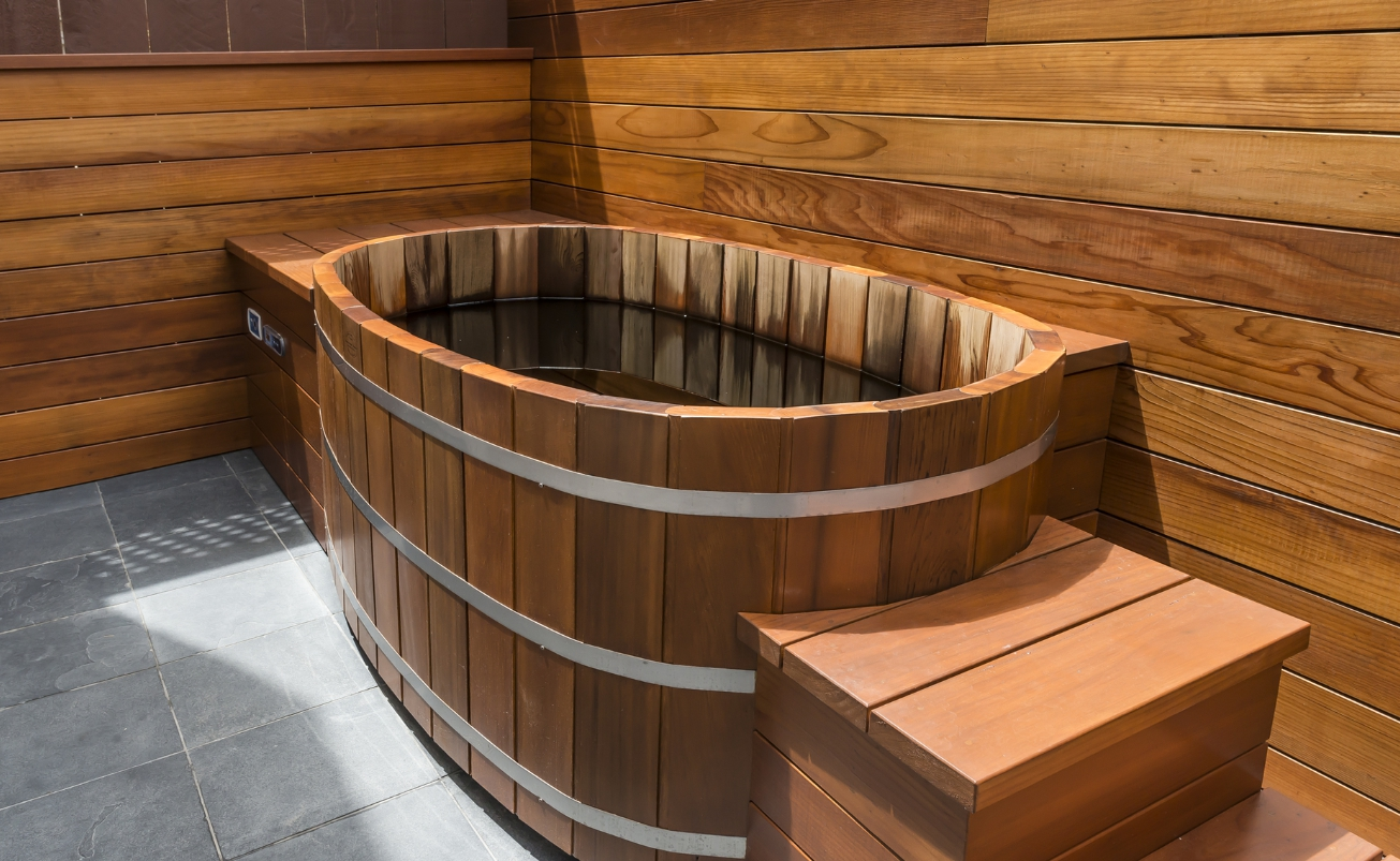 Бани с бассейном: проекты, фото, особенности | как построить баню