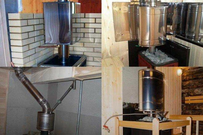Теплообменник для банной печи