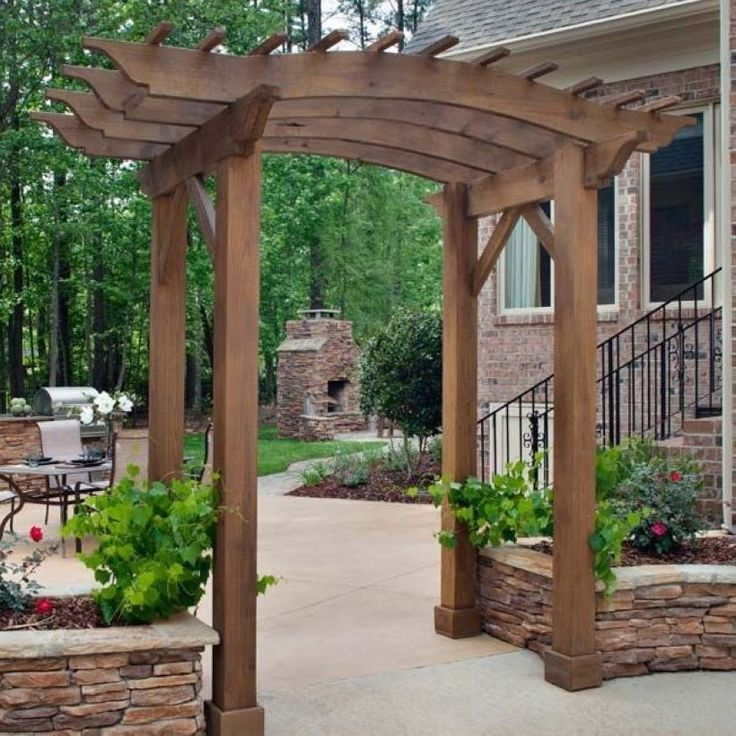 Пергола в ландшафтном дизайне: красивые арки для сада и дачи, примеры с фото