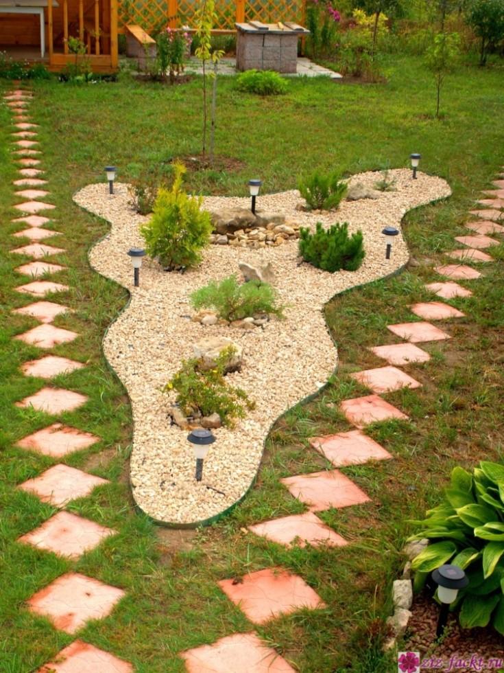 Строим садовые дорожки своими руками при минимальных затратах. Просто, но со вкусом