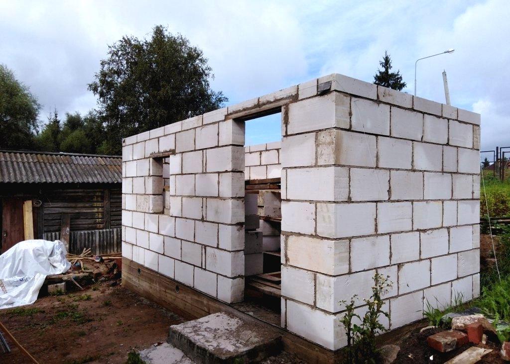 Как построить баню из газобетона своими руками – пошаговая инструкция