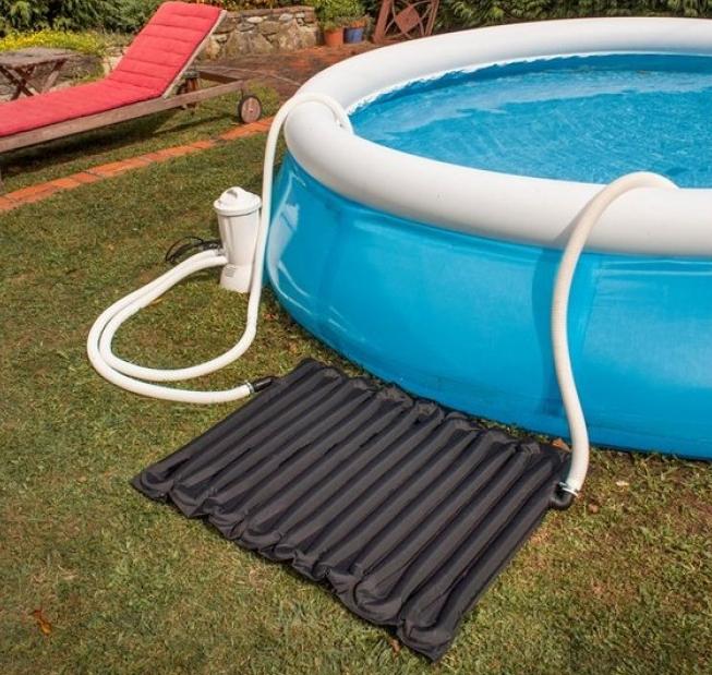 Подогрев воды в бассейне: как нагреть воду без электричества