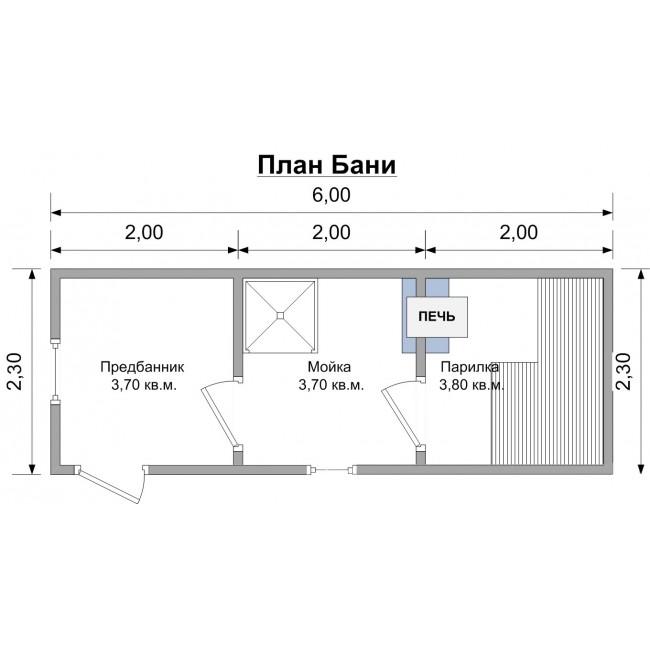 Баня размером 3 на 6 — идеи дизайна