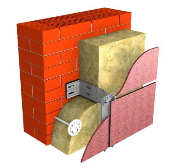 Как крепить минвату к стене? - строительство просто