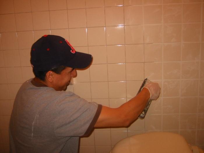 Затирка швов для плитки в ванной, выбор и рекомендации