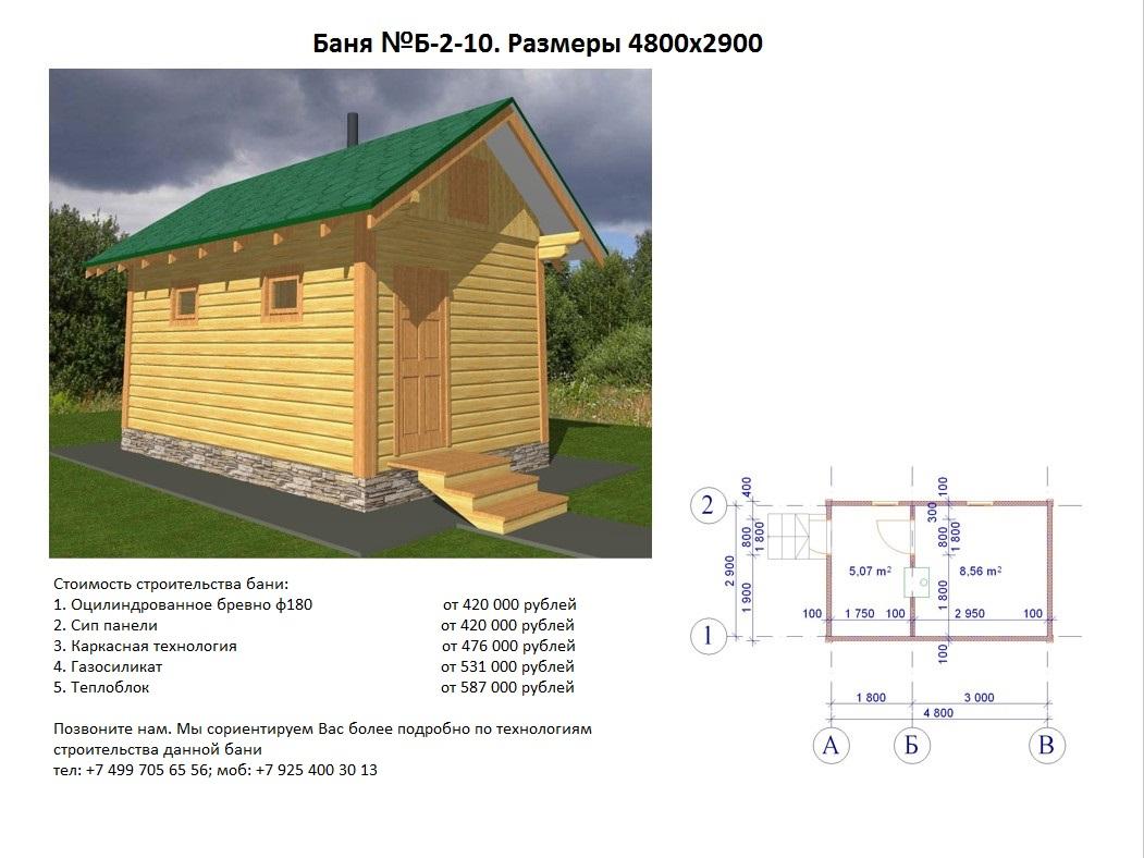Как правильно расчитывается смета для строительства бани — строим сами дом