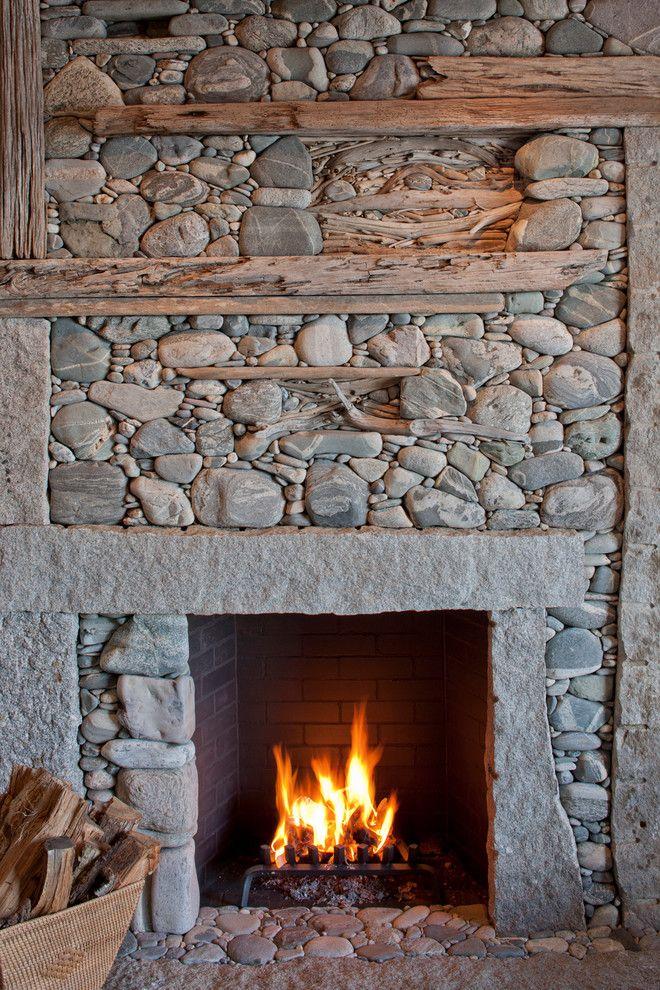 Плитка для печей и каминов: виды для облицовки +50 фото примеров