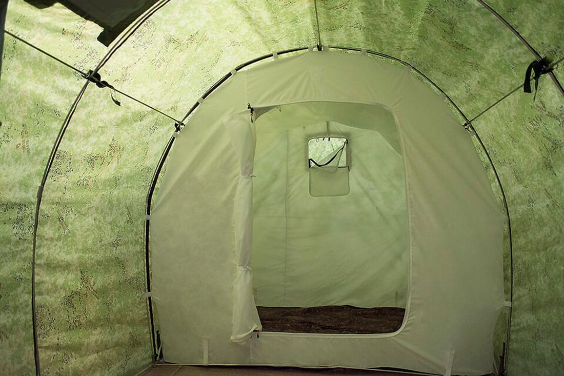 Походная баня-палатка: описываем по порядку