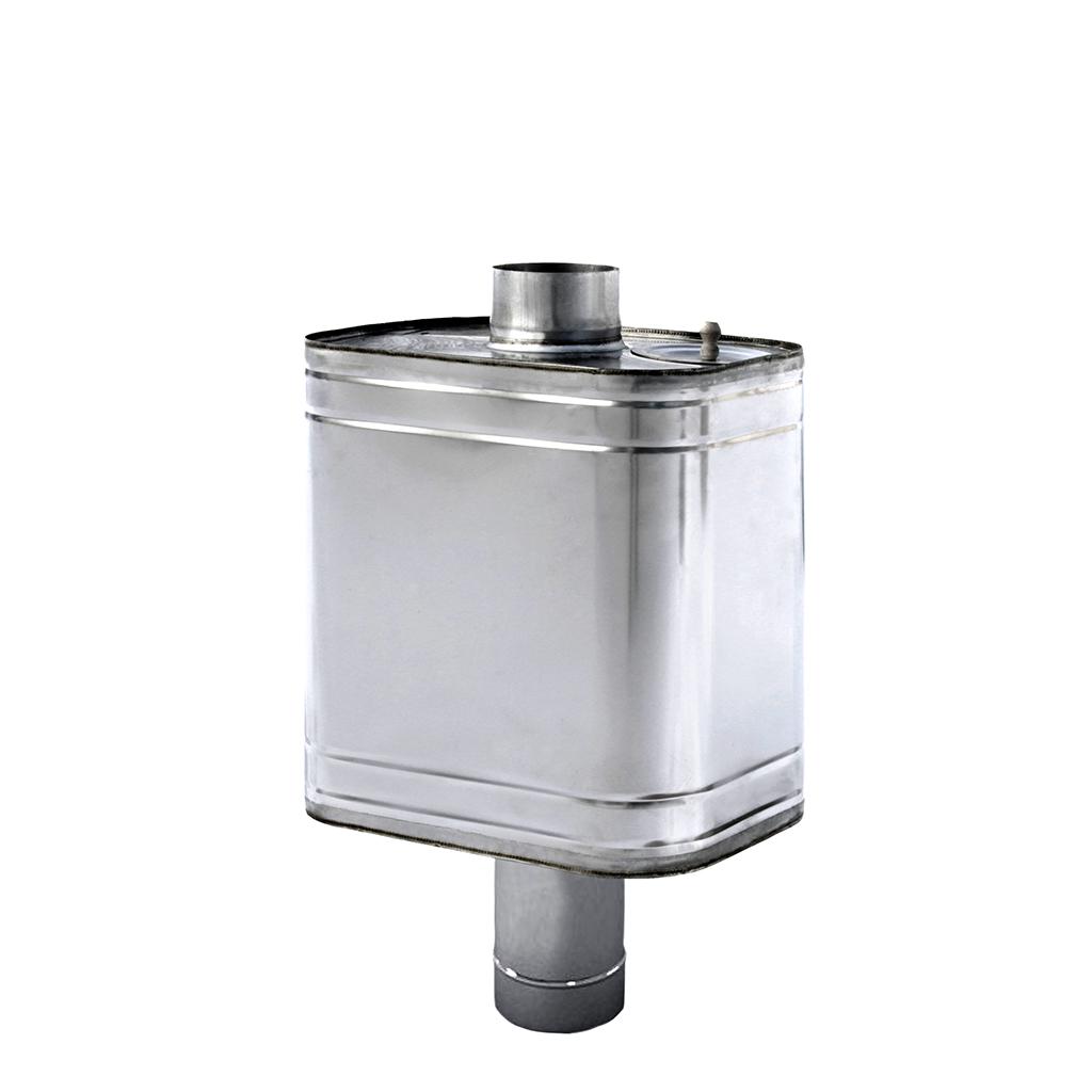 Как обустроить бак на трубе дымохода для бани