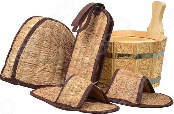 Банные принадлежности: обувь для бани и прочие аксессуары с фото