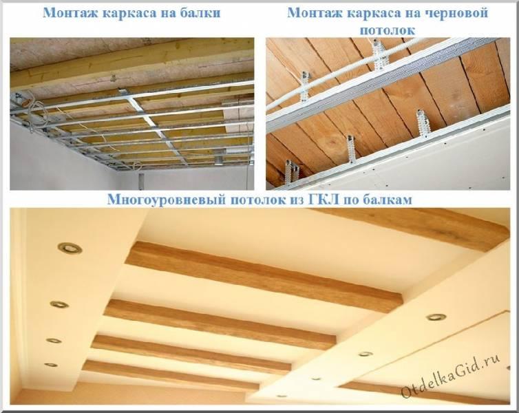 Потолок из осб плит и его отделка: монтаж по деревянным балкам и чернового, чем обшить