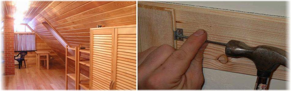 Отделка бани вагонкой: как правильно обшить стены внутри банных помещений