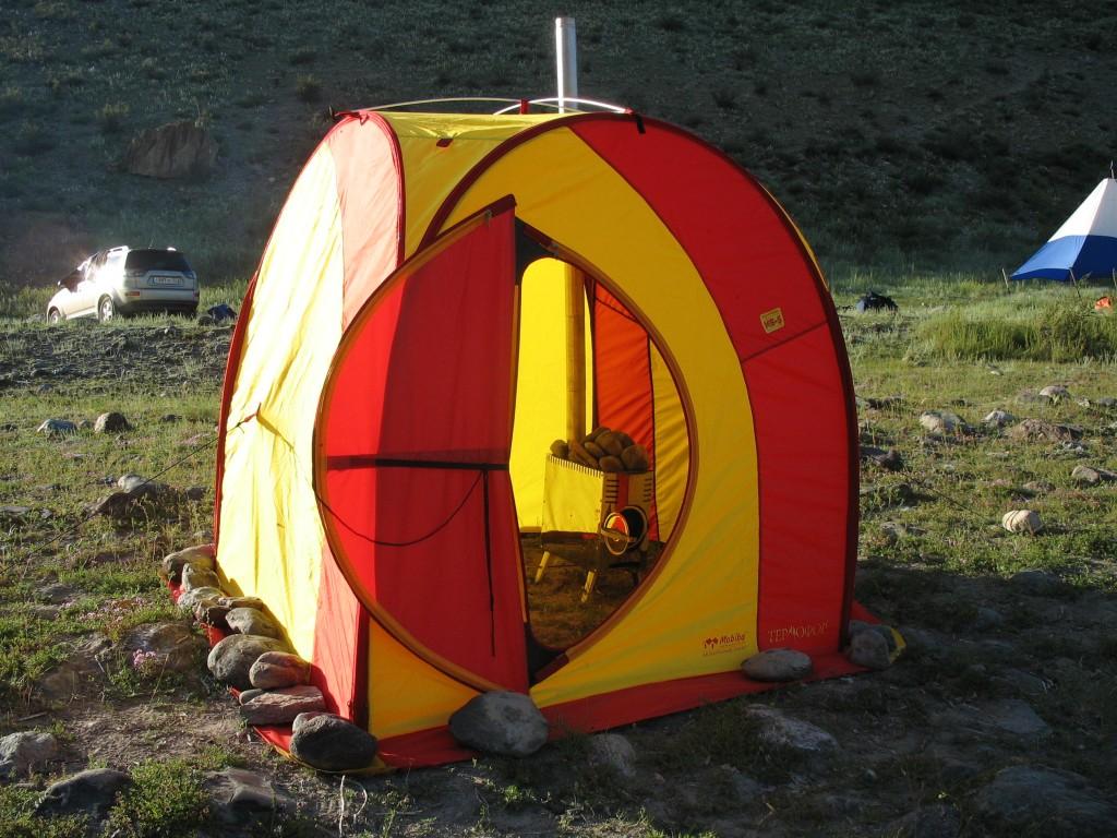Походные бани: мобильные бани палатки с печкой, туристическая баня, фото и видео