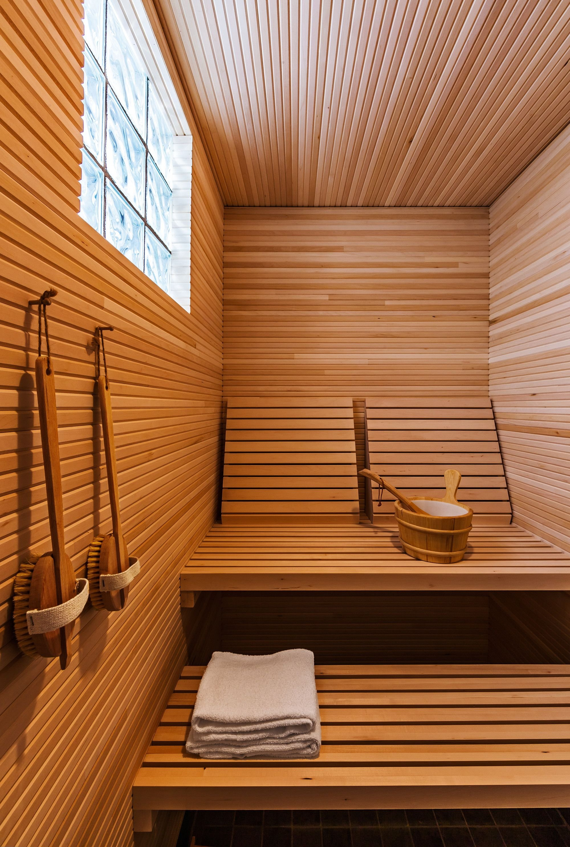 Требования к интерьеру бани