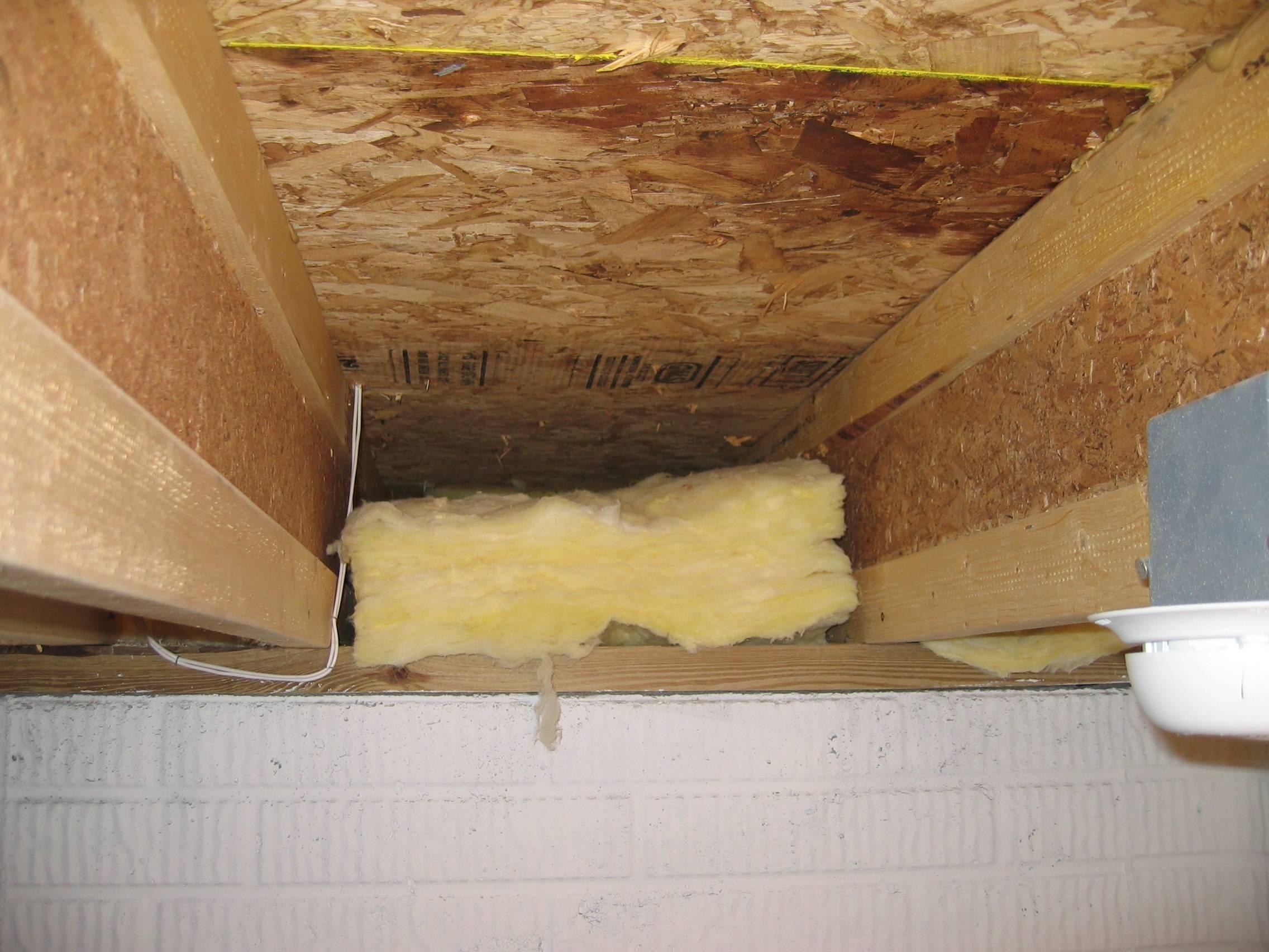 Как утеплить потолок в бане своими руками - пошаговая инструкция