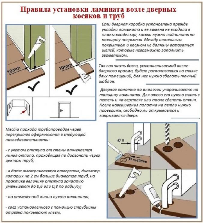 ⚠ как укладывать ламинат своими руками: пошаговая инструкция