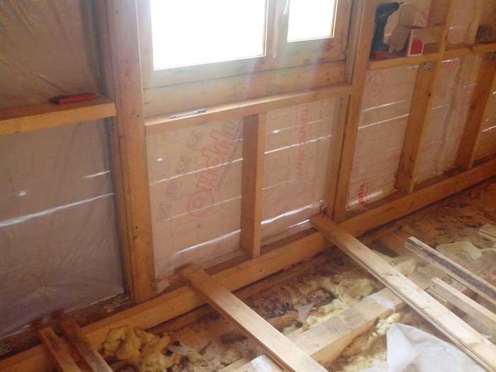 Комбинированное утепление пенопласт и минвата в каркасном доме
