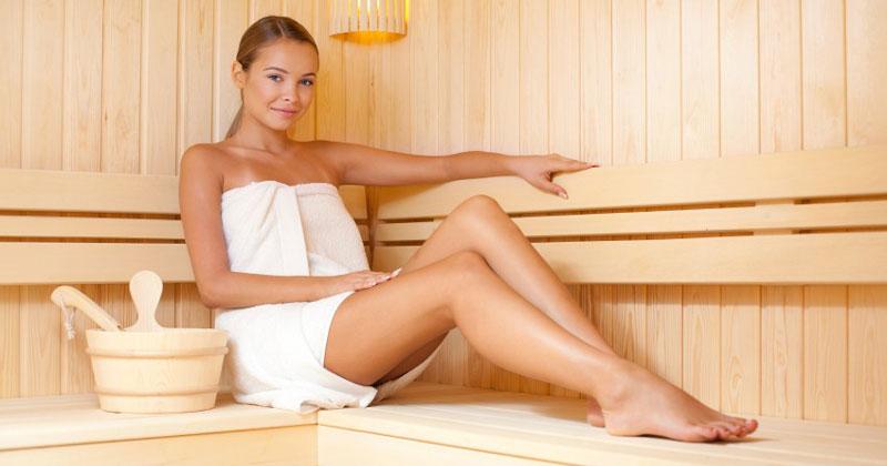 Процедуры для похудения в сауне - как правильно принимать, польза