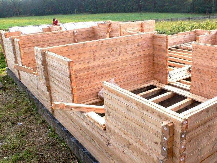 Постройка бани из бруса своими руками – технология и этапы строительства