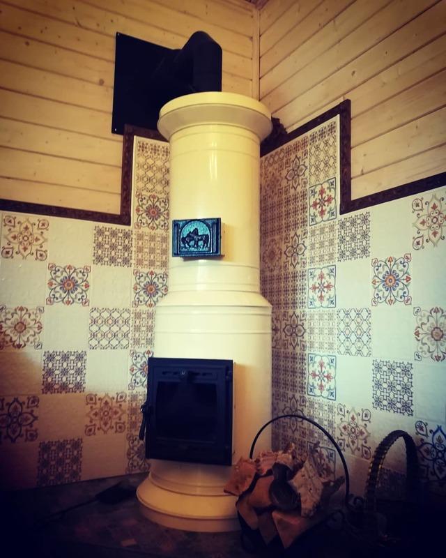 Чем покрасить печь в бане – выбор подходящей краски