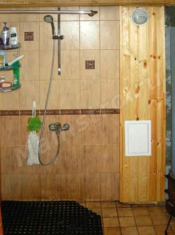 Делаем ножной душ-топтун: мастер-класс по изготовлению своими руками