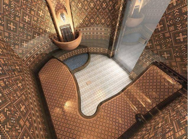 Совмещенный хамам с русской баней: особенности и этапы проектирования