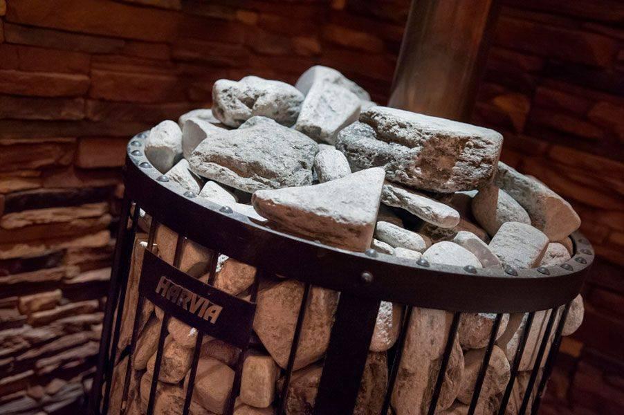 Выбор камней для бани