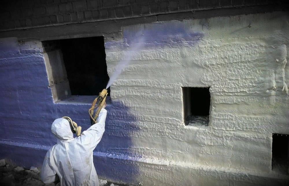 Утепление ппу: качественная теплоизоляция методом напыления