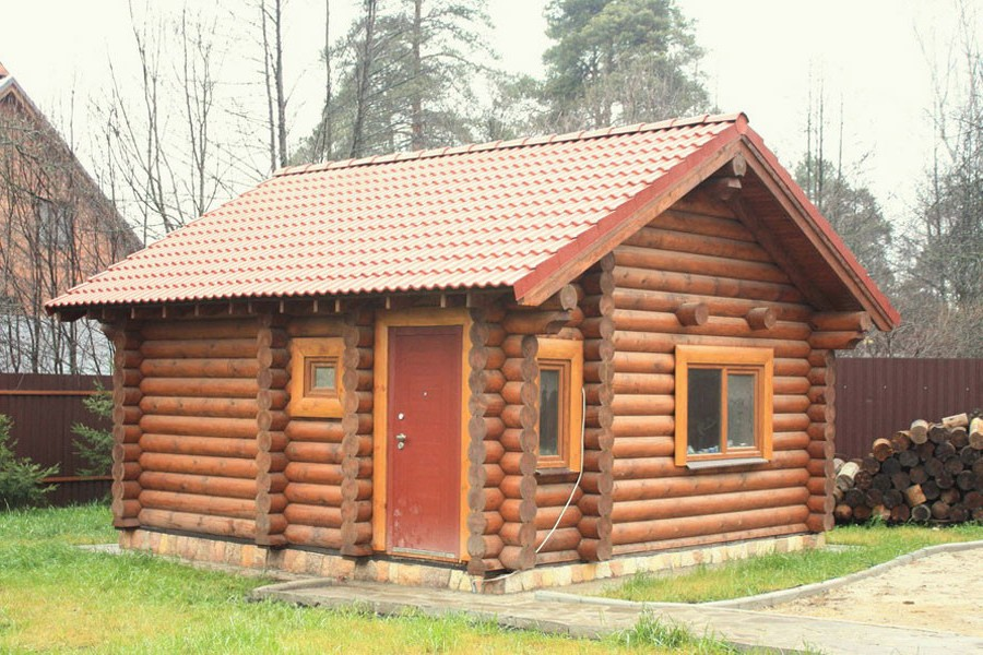 Внешняя отделка бани – украшаем лицо строения
