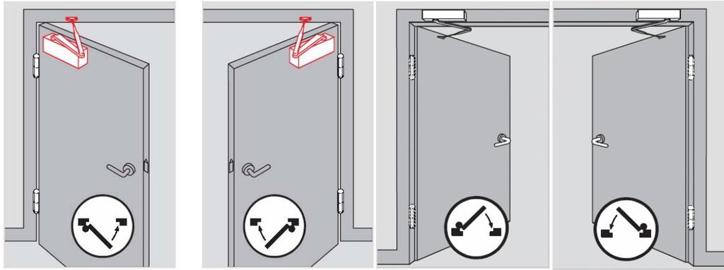 Установка доводчика на дверь + как его отрегулировать самостоятельно