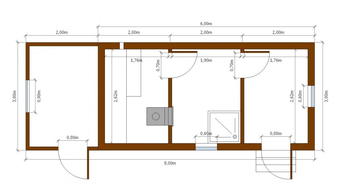Хозблоки с дровяником (21 фото): сараи с дровником и туалетом под одной крышей на даче, делаем своими руками, проекты и чертежи