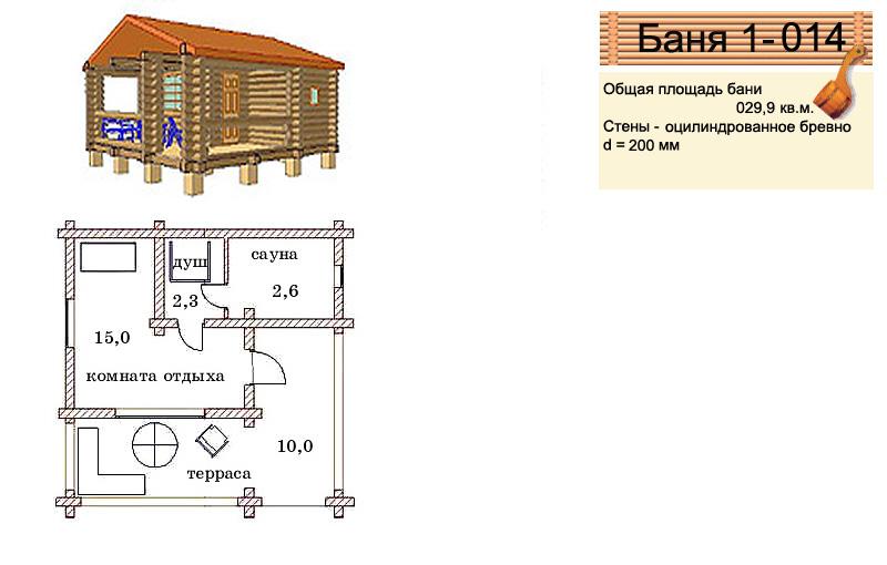 Проекты кирпичных бань, где и как они строятся, варианты планировок, фото и видео