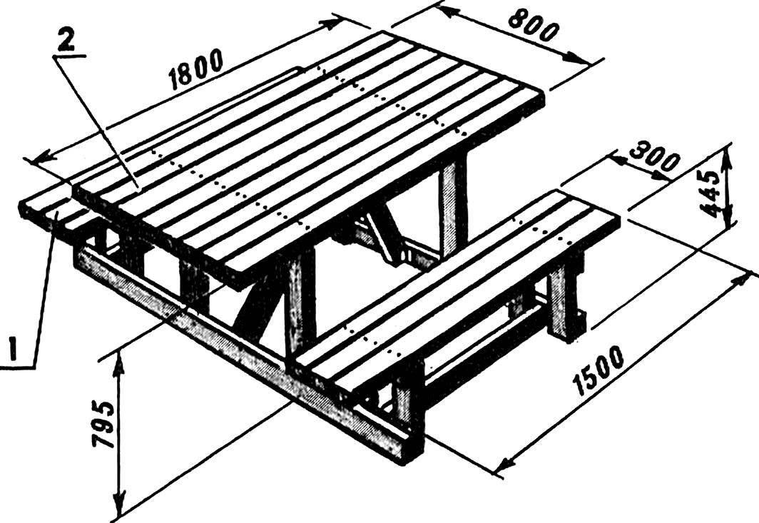 Делаем скамейку из дерева в баню своими руками - чертежи лавок, инструкция по изготовлению, фото и др