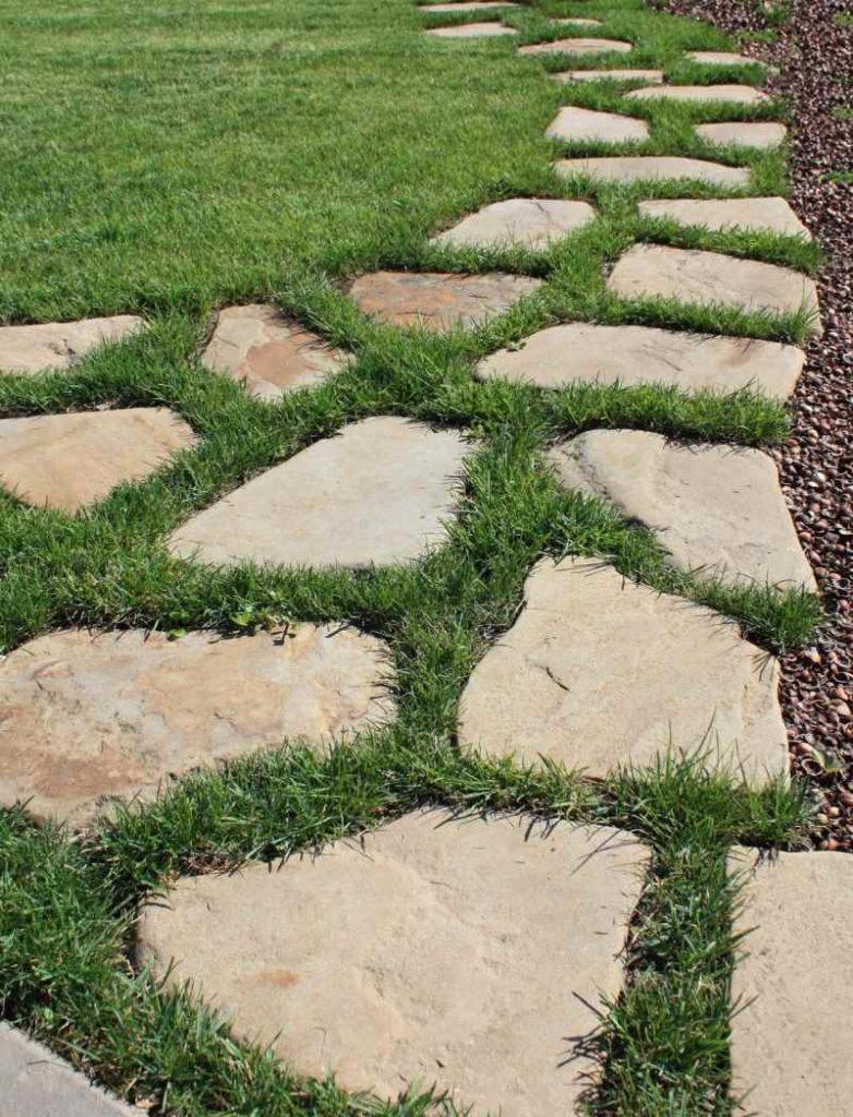 Садовые дорожки: фото примеры