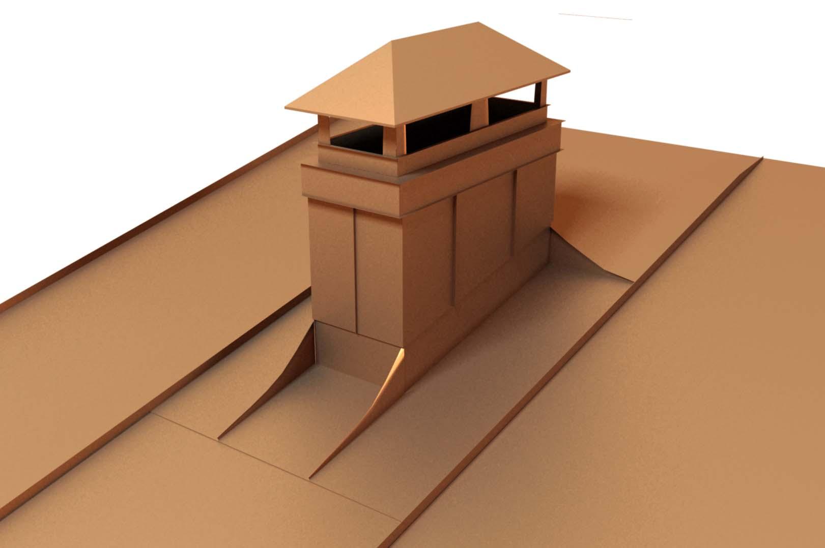 Герметизация и проход трубы через крышу дома
