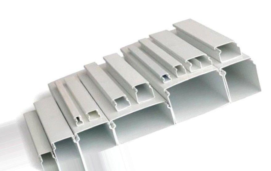 Кабель канал: фото, размеры, виды кабель-каналов для электропроводки
