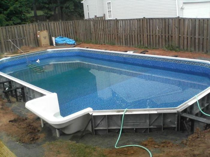 Как сделать бассейн на даче своими руками: 165+ (фото) вариантов