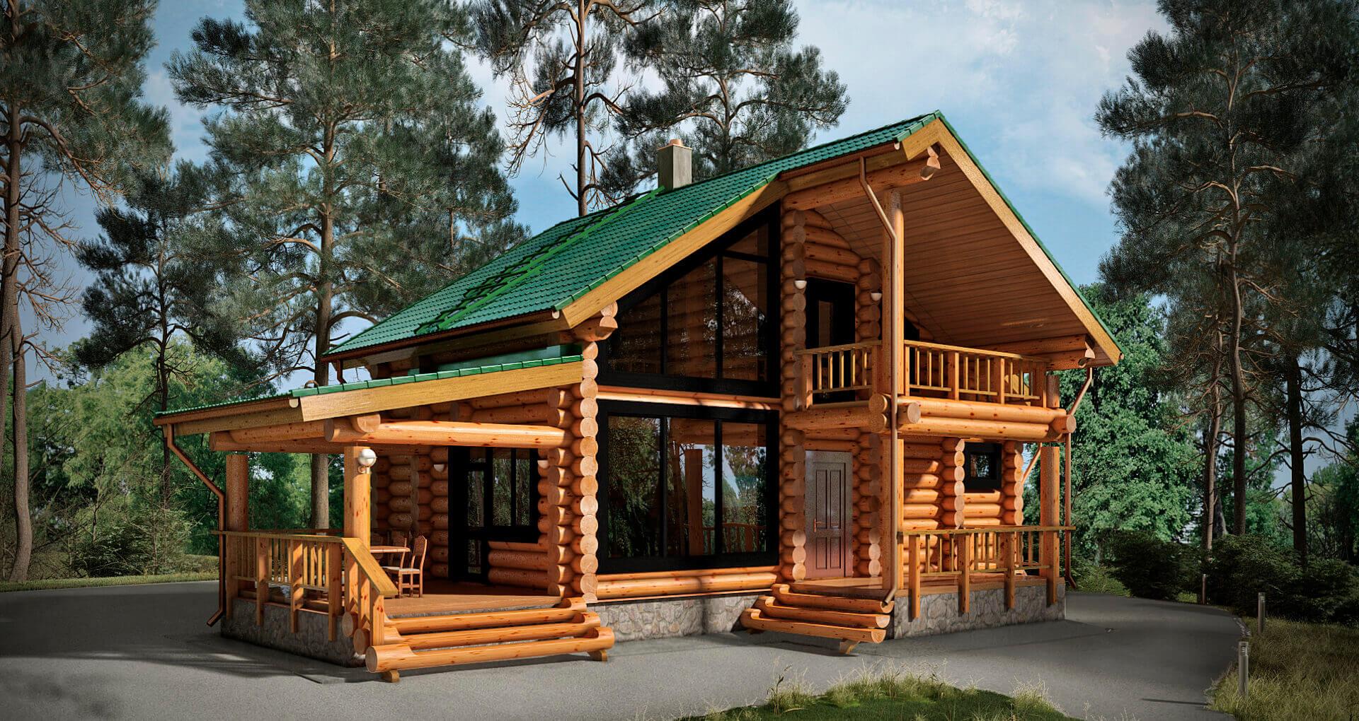 Лучшие типовые проекты деревянных бань