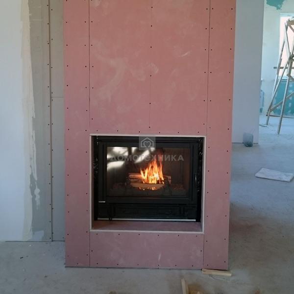Теплоизоляция для каминов. высокотемпературная теплоизоляция для печей и каминов