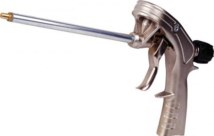 Как пользоваться пистолетом для пены — устройство, виды, выбор и ремонт – мои инструменты
